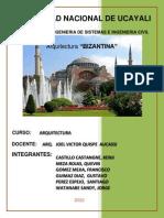 Arquitectura Bizantina, Gotica, Romanica