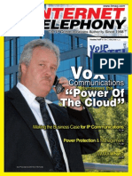 Internet Telephony Magazine, Vol. 11, issue 10, October 2008