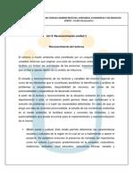 Reconocimiento Unidad 1. Analisis Del Entorno