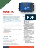 Especificacion Corus