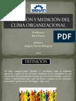 diapositivas clima organizacional