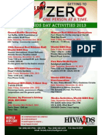 WORLD, AIDS, DAY Activities 2013