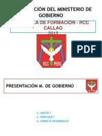 Presentacion Ministerio de Gobierno