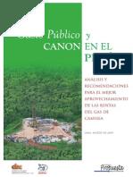 Gasto Publico y Canos Peruano