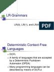 LR Grammars