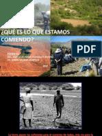 Problemática y perspectivas de la Agricultura Orgànica