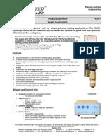 Product Description Height Control KHC1 ARC