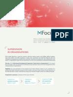 Supervision in Organisations MFocus Info