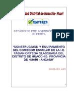 """""""CONSTRUCCION Y EQUIPAMIENTO DEL COMEDOR ESCOLAR"""