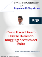 Como Hacer Dinero Online Haciendo Blogging