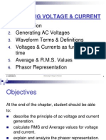 Chapter1 -Alternating Voltage & Current :)