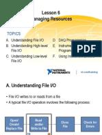 Lesson 6 - Managing Resources
