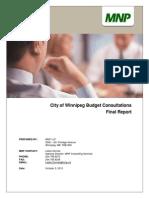 2014 budget consultation