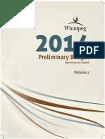 2014 Preliminary Budget Volume 1