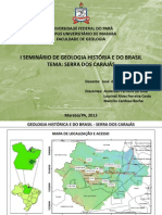 Mineralização Serra dos Carajás