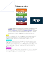 sistema operativo rocio