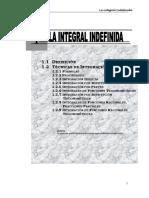 - La Integral Indefinida