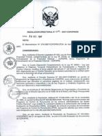 R.D. 070-07-DE (CED)