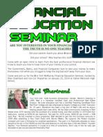 Financial Education Seminar