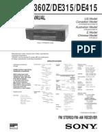 SONY STR-DE315-425-D360-SM