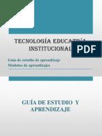 Tecnología educativa institucional