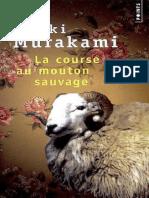 Haruki Murakami-Course Au Mouton Sauvage(1982)