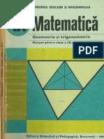 Cls 9 Manual Geometrie IX 1988