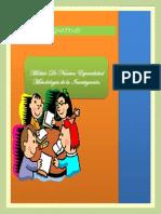 Texto Cognitivo Sobre Metodología de la Investigación.