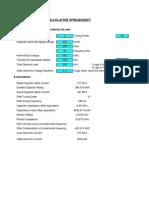 LV Filter Calculation