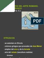 Arte Etrusco y Romano, Power Point