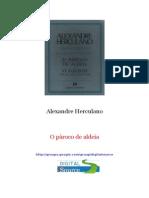 Alexandre Herculano - o Paroco de Aldeia