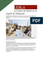 28-11-2013 Milenio.com - Inauguran Centro de Salud en la región de Tehuacán