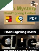 math clue