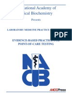 EVIDENCE-BASED PRACTICE FOR POINT-OF-CARE TESTING POCT