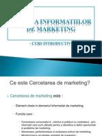 Analiza Informatiilor de Marketing
