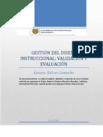 Informe Sobre Gestion Del Diseno Instruccional Nelcar Camacho