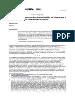 criminalización de la pobreza en Uruguay 2012