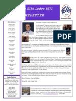 Lewiston Elks #371 December Newsletter