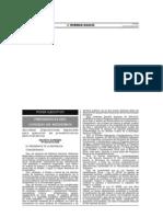 DS N° 054-2013-PCM. Aprueban disposiciones especiales para ejecucion de procedimientos administrativos