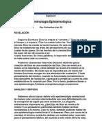 c. Van Til Epistemologia