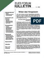 1993-04 Neues Forum Bulletin 22