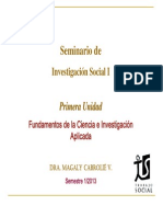 Seminario Inv Social 2013 Clase 1 1