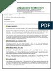 Communication Advisory for November 30-2013