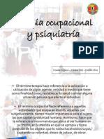 Terapia Ocupacional y Psiquiatrc3ada Mioooo