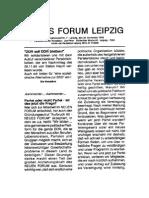 1989-11 Neues Forum Leipzig - Infoblatt 7 - Antwort der IGfM
