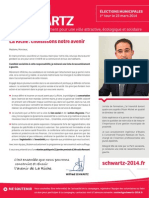 Lettre aux Larichois - Wilfried Schwartz 2014