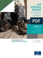 3rd General Report on GRETA's Activities 2013