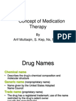 01 Concept of Medication Therapy