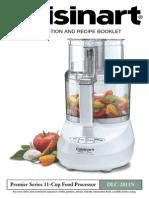 Food Processor Manual