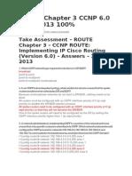 Route Exam Cap 3 Ccnp 6